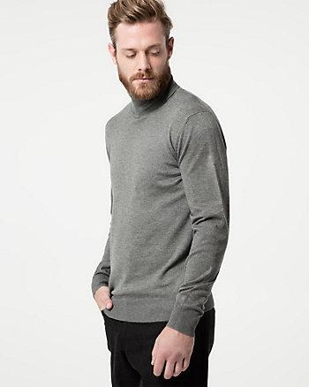 Knit Turtleneck Sweater
