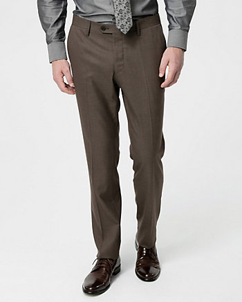 Tonal Woven Straight Leg Pant