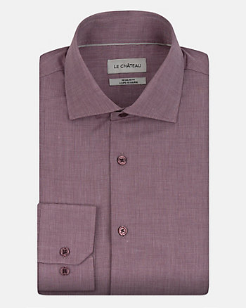 Tonal Cotton Regular Fit Shirt