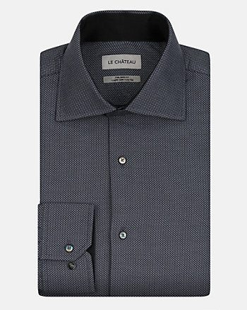 Two-Tone Cotton Tailored Fit Shirt