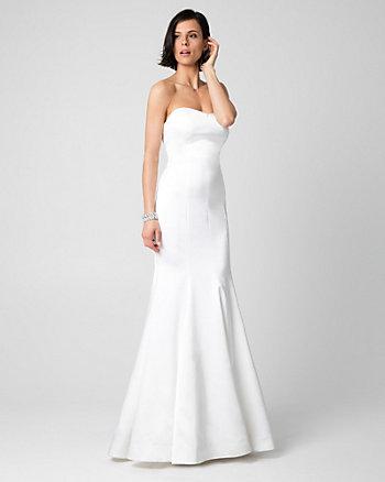 Satin Sweetheart Mermaid Gown