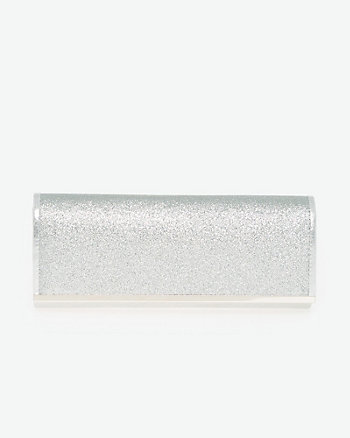Glitter Flapover Clutch