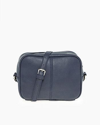 Leather-Like Shoulder Bag