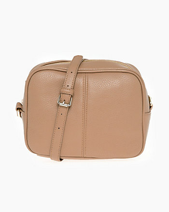 Leather-Like Shoulder Bag