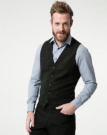 Knit Contemporary Fit Vest