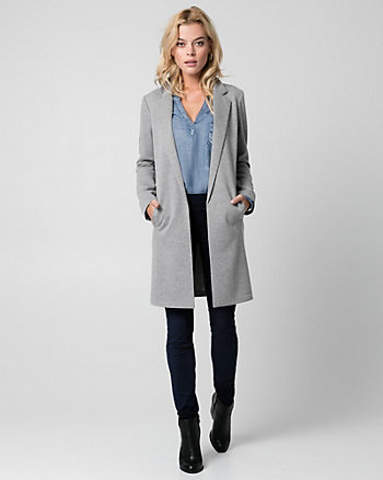French Terry Boyfriend Blazer
