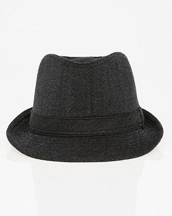 Wool Twill Fedora Hat