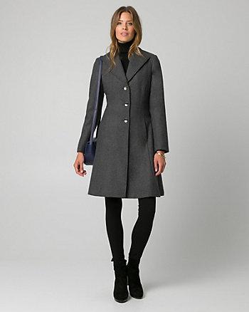 Melton Notch Collar Coat