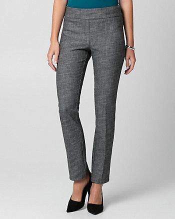 Tweed Straight Leg Pant