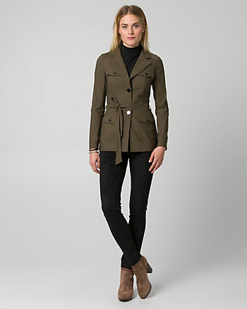Tech Stretch Notch Collar Blazer