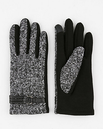 Bouclé Tech Gloves