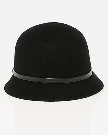 Wool Cloche Hat
