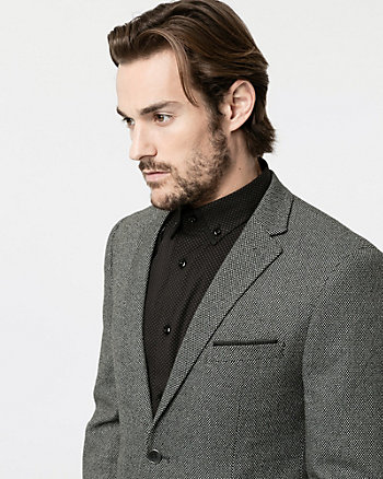 Stretch Piqué Contemporary Fit Blazer