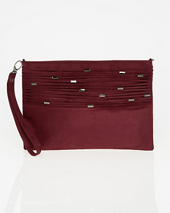 Suede-Like Pouch