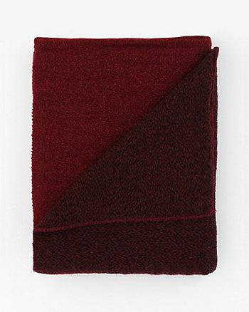 Colour Block Knit Scarf