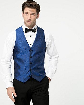 Reversible Jacquard City Fit Vest