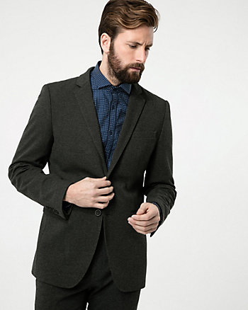 Knit Contemporary Fit Blazer