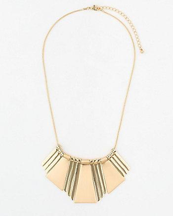Metal Collarbone Necklace