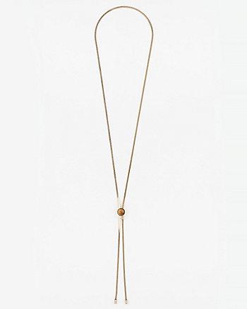 Chain Slider Y-Necklace