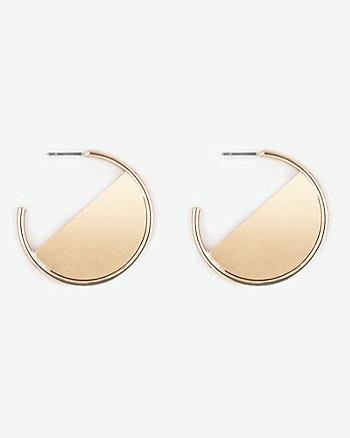 Metal Hoop Earrings