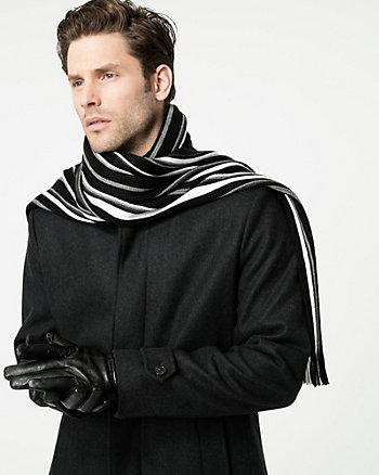Stripe Knit Scarf