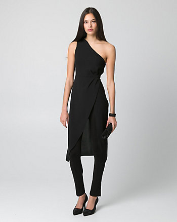 Tricoteen One Shoulder Slit Tunic
