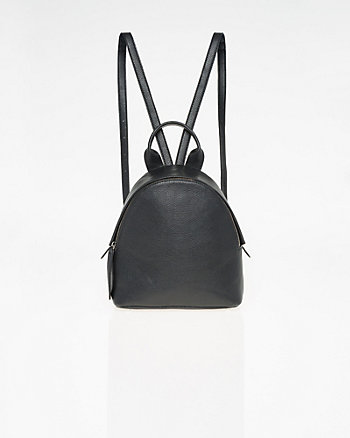 Leather-Like Backpack