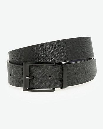 Reversible Leather-Like Prong Belt