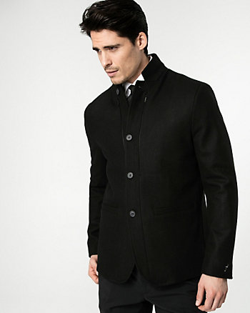 Melton Slim Fit Blazer