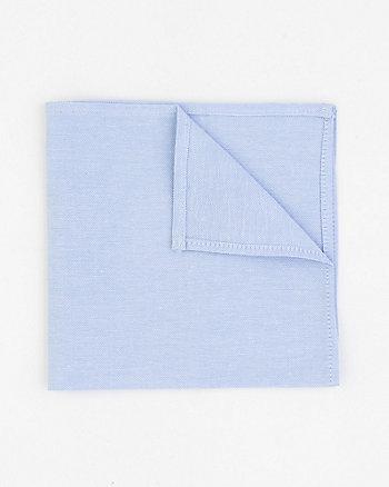 Cotton Oxford Pocket Square
