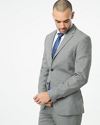 Tonal Woven Slim Fit Blazer
