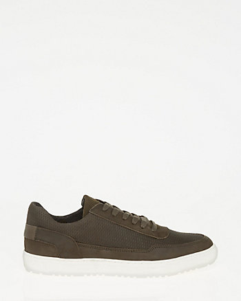 Nubuck Leather Sneaker