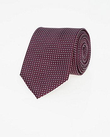 Novelty Print Silk Skinny Tie