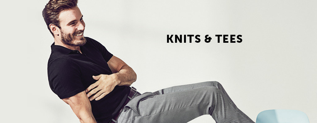 Men's Knits & Tees