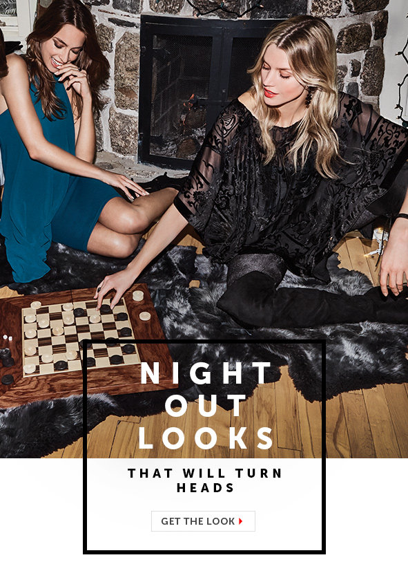 Shop Night Out Clothing