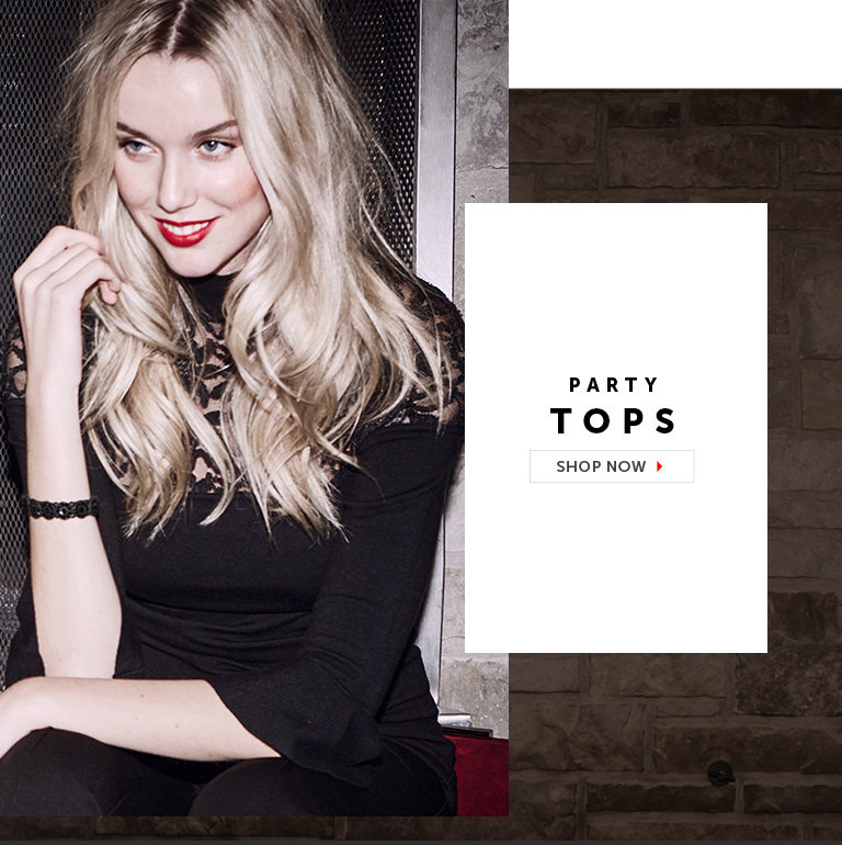 Shop Night Out Tops