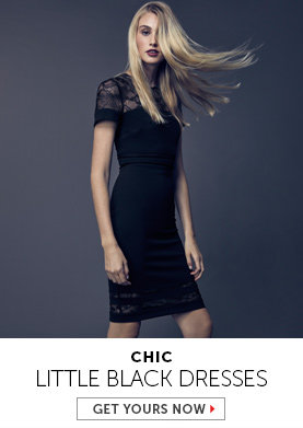 Shop Little Black Dresses