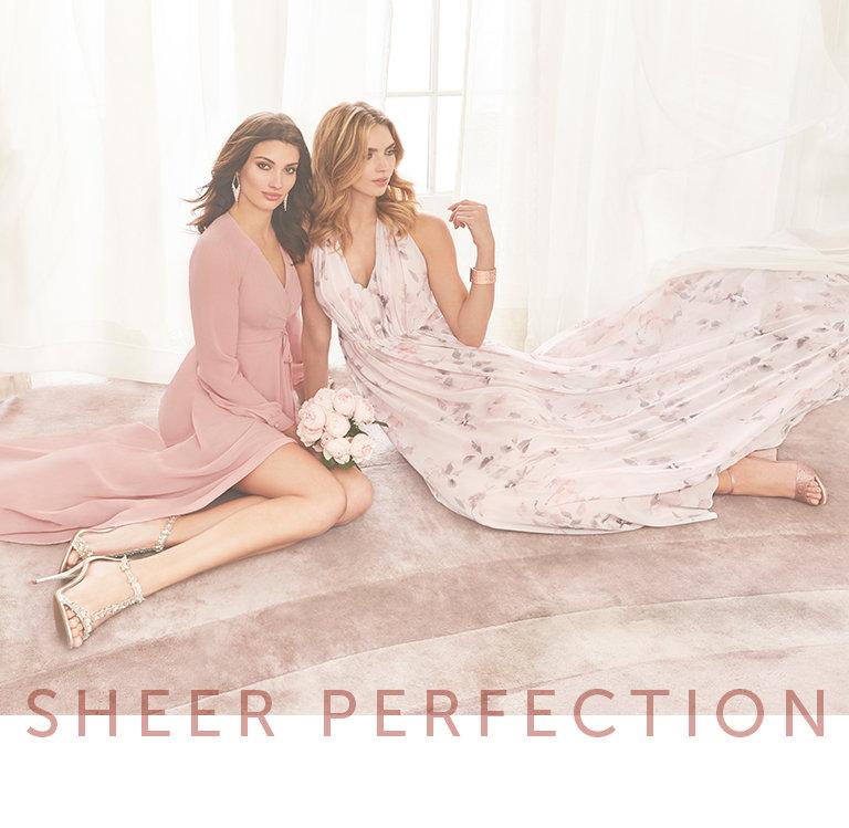 Shop shimmering dresses