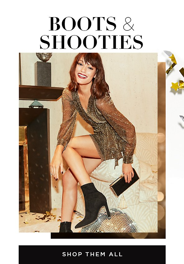 Boots & shooties. You're going to love this. The most stylish booties & shooties you've just got to have. Shop Women's Boots