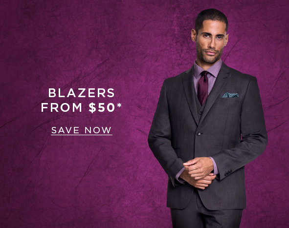 Blazers from $50. SAVE NOW >