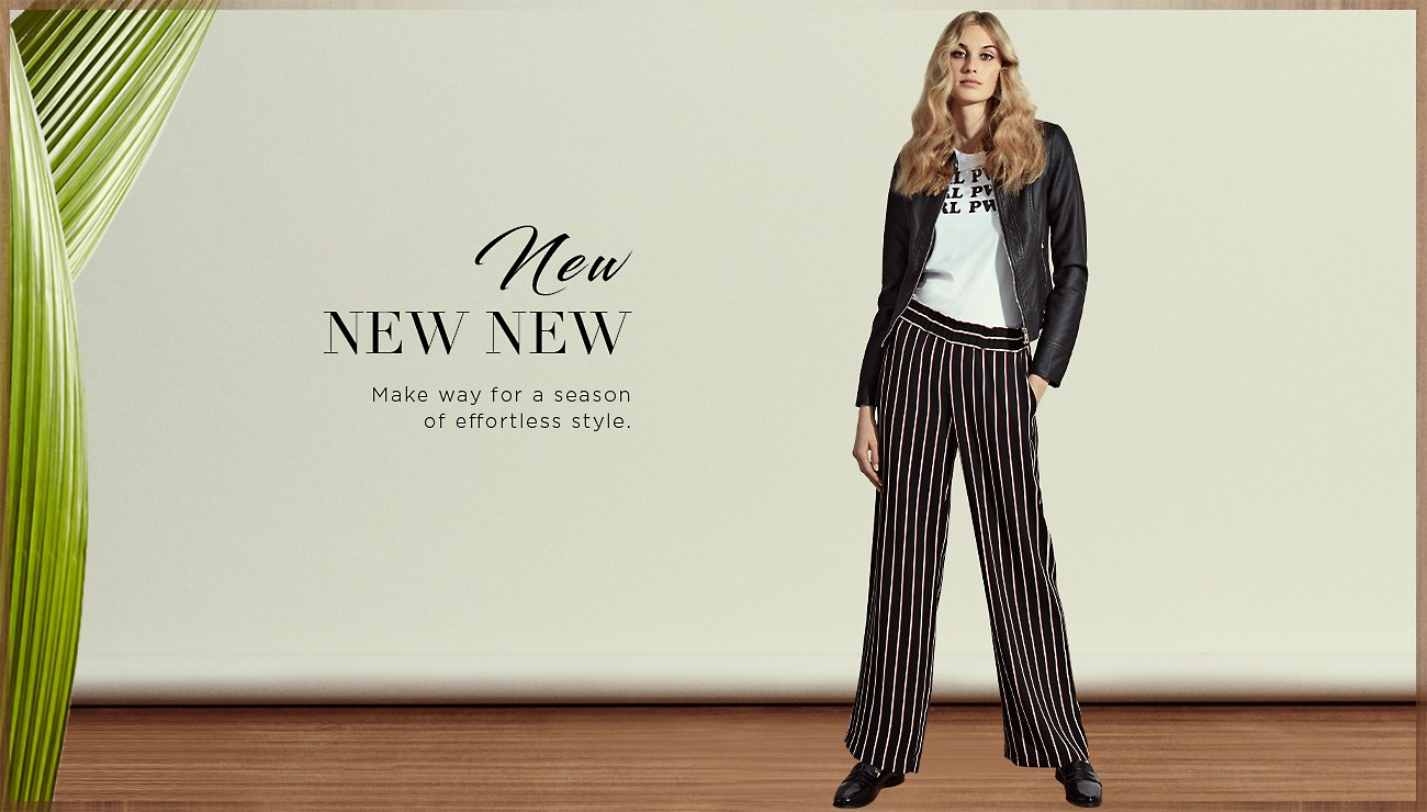 New New New. Make way for a season of effortless style. Shop Women's New Styles