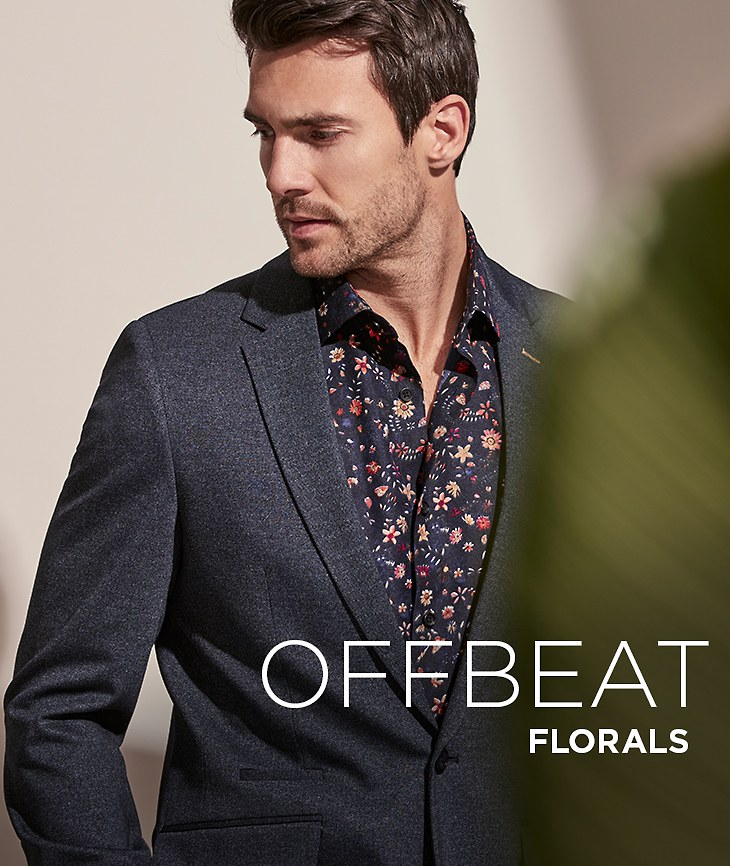 Man Flower. Update your style with offbeat florals. Shop Men's New Arrivals