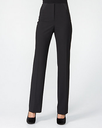 Dressy Stretch Black Pants