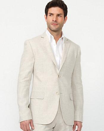 Modern Fit Linen Blazer