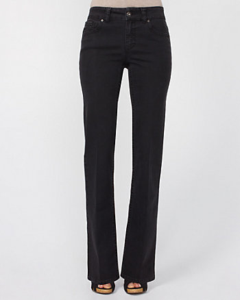 Bootcut Stretch Denim Pant