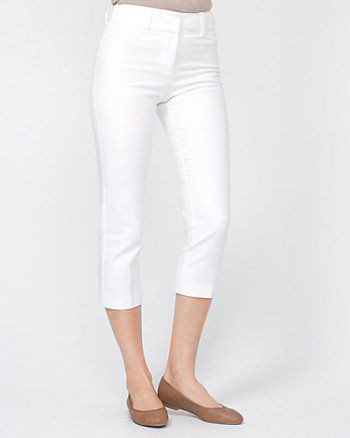 Cotton Crop Leg Pant
