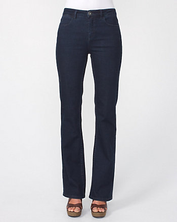 Stretch Denim Boot-cut Jean