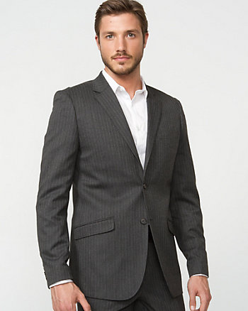 Contemporary Fit Herringbone Blazer