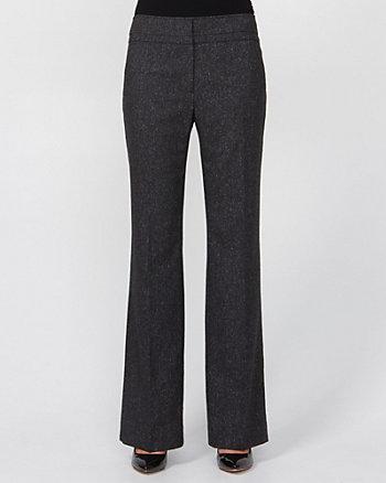 Tweed Flare Leg Pant