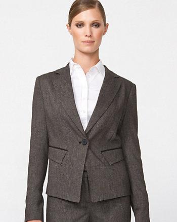 Wool Blend Classic Fit Blazer